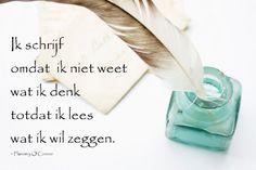 #citaten #lezen #schrijven Quote van de week 41-2013 -- Tekstbureau Van Ginneken