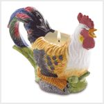 This ceramic rooster candle would look great in my mom's house.  He has a farm themed kitchen at their ranch and this would fit nicely in the kitchen.  I'll have to consider getting this for her.