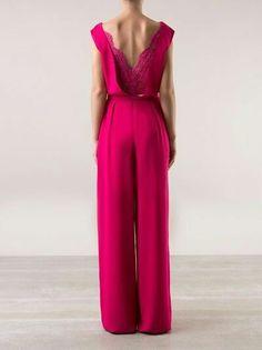 Wedding Trouser Suits, Girl Fashion, Fashion Outfits, Womens Fashion, I Dress, Party Dress, Summer Wedding Outfits, Ballroom Dress, Mode Style