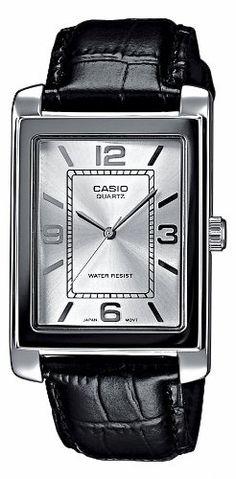 ¡Chollo! Reloj Casio Collection MTP-1234PL-7AEF con correa de cuero autentico por sólo 20 euros.