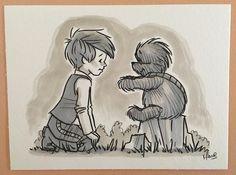"""Artist Reimagines """"Star Wars"""" Cast as Beloved """"Winnie the Pooh"""" Characters - My Modern Met"""