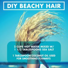No heat beach waves? SOLD. Thank you Secret Extensions by Daisy Fuentes for this style tip!   #diy #hairstyle #beachwaves