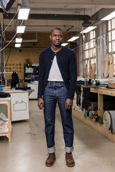 The organic NW3 straight jean from Blackhorse Lane Ateliers. #mensfashion #sustainablefashion