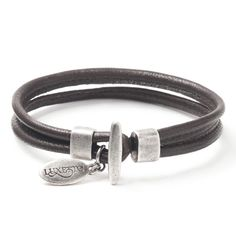 Items similar to NEXI MEN Brown bracelet from Luxetto on Etsy Argent Sterling, Plaque, Belt, Brown, Bracelets, Etsy, Jewelry, Fashion, Black Man