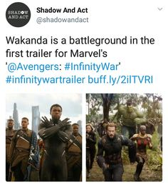 still shivering. #avengers #infinitywar