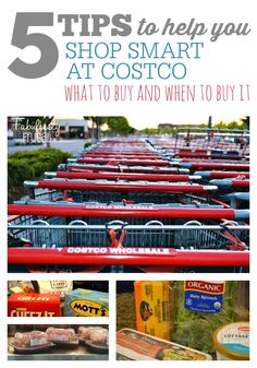 5 Tips to Help You Shop Smart at Costco