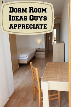Check Out These College Dorm Room Ideas Guys Will Appreciate For Making Dorm Life More Comfortable