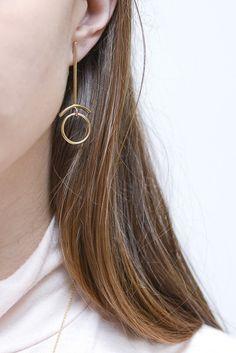 Retrograde earrings