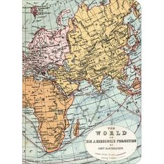 Map Mini Notebook: : Lifestyle | chapters.indigo.ca ($9.50) found on Polyvore