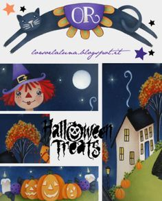 Trick or treat-Trick or Treat Painting E-pattern by IleniaChiodini