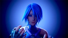 You can see her sorrow and panic in her eyes... stay strong aqua!