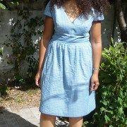 Blue Burda par Armide - thread robe MAI 2013