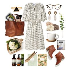 Untitled #298 by the59thstreetbridge on Polyvore featuring Steven Alan, Madewell, Julie Cohn, Aesop, Butter London, Höganäs Ceramic, RIFLE, Lotuff & Clegg and Muji