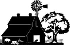 Pics For > Farm Scene Silhouette Animal Silhouette, Silhouette Cameo Projects, Silhouette Design, Small Wood Projects, Vinyl Projects, Art Projects, Diy Tumblers, Farm Signs, Scroll Saw Patterns