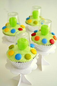 Alien UFO Cupcakes | Flickr - Photo Sharing!