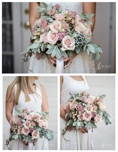 Mariana with Flowerly Studio has to be one of our favorite florists, we have worked with her on multiple events and are contually wowed and amazing by her brilliant talent, striking creativity and…More Bridal Bouquet Pink, Blush Bridal, Bride Bouquets, Flower Bouquet Wedding, Bridesmaid Bouquet, Dusty Rose Wedding, Spring Wedding Flowers, Bridal Flowers, Floral Wedding