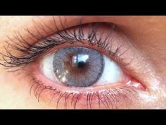 Solotica Coloured Contact Lenses for Brown Eyes in Quartzo with HD Closeups! - YouTube