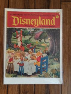 Early 1970 039 s Disneyland Magazine for Beginning Readers Winnie The Pooh Cover | eBay