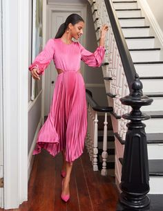 Pink Outfits, Pretty Outfits, Dress Outfits, Style Feminin, Feminine Style, Modest Fashion, Fashion Outfits, Womens Fashion, Fashion Tips