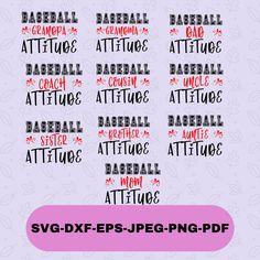 Silhouette Designer Edition, Svg Files For Cricut, Cricut Design, Cutting Files, Attitude, How To Get, Messages, Baseball, Sport