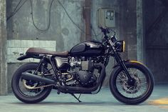 Ride On: The Custom Bonneville T100 by Bunker | First Look