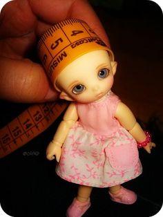 Adorable tiny bjd