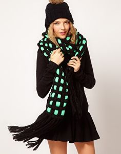 Loveeee this ASOS scarf. Only problem is shipping is slowww. Free though!