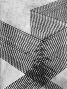 Danny Jauregui USA) - Ruins number one through six / Sacred Geometry Op Art, Art Graphique, Grafik Design, Art Plastique, Geometric Art, Textures Patterns, Line Patterns, Line Drawing, Drawing Ideas