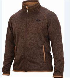 Drake Waterfowl Mens Heritage Fleece Full Zip Jacket at MacksPW.com