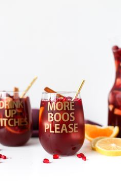 DIY Halloween Wine Glasses | More Boos Please // Salty Canary // #ad #ExploreAir2 @Cricut