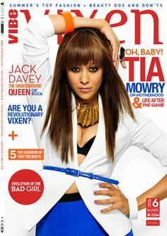 Tia looks great! Love her hair color Black Celebrities, Celebs, Celebrities Fashion, Tia And Tamera Mowry, Vibe Magazine, Paula Patton, Robin Thicke, Brazilian Body Wave, Black Girls Rock