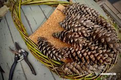 Christmas Diy, Christmas Decorations, Xmas, Pine Cones, Baby Quilts, Container Gardening, Gnomes, Advent, Crafts