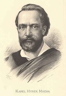 Karel Hynek Mácha, romantic writer, his poem May is one of the best Czech poems