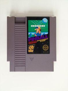 SOLD Vintage Pinball NES Nintendo Game 1980s