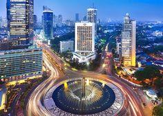 City - bumming in Jakarta, Indonesia