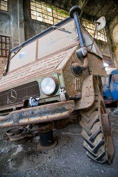 Abandoned MB Unimog