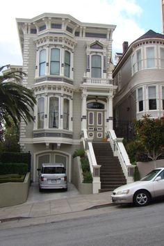 San Francisco Victorian home