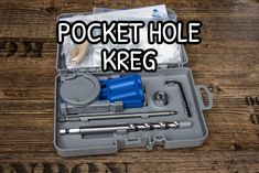 Kit pocket hole della Kreg    #pockethole #foritasca #woodworking  #woodworker #diyhomedecor #diy #kregjig