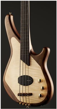 Sandburg Custom Thinline bass guitar