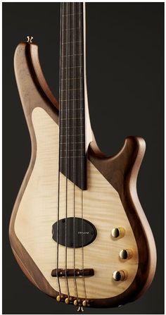 Sandburg Custom Thinline bass guitar http://eclipcity.com