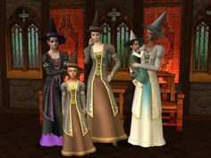 The Months That Time Forgot! Supernatural Witch, Witch Outfit, Sims 2, Princess Zelda, Wizards, Witches, How To Wear, Magic, Holidays