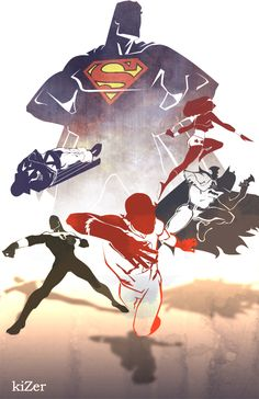 Justice League by *kizer180 on deviantART