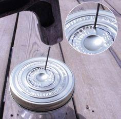Faire une lampe baladeuse avec un bocal - Meubles et objets - Pure Sweet Home