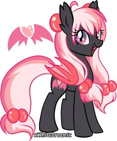 Strawberry Devilcake Adoptable (CLOSED) by xWhiteDreamsx on DeviantArt