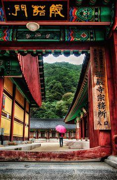 Rainy Temple Visit - Eomwha Temple, Jirisan, S Korea | by Tom Coyner on 500px