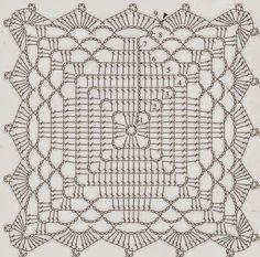 :::Amor em cada Pontinho:::: PAP Square Elegante e explicação de gráficos