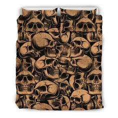 Are you looking for unique bedding sets for adults? We got you covered. All of our bedding sets have unique designs such as gothic bedding sets, skull bedding sets and more. Our bedding sets are super-soft, comfortable, and perfect for any season. Each bedding set comes with a duvet cover and 2 pillow covers. Blue Bedding Sets, Queen Bedding Sets, Gothic Bed, Bed Sheets, Patterned Shorts, Pillow Covers, Unique Bedding, Fabric, Skull