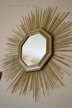 Here Comes the Sun...burst Mirror - House on the Way