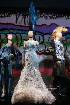 """Mademoiselle de Paris - Collection """"Divine Jacqueline"""" 1999 -  Exposition Jean Paul Gaultier - Grand Palais - Paris"""