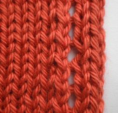 Stockinette Edge Treatments - excellent article on stopping the edges of stockinette from curling.